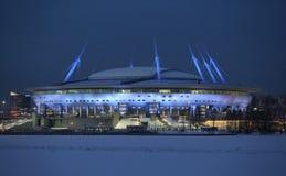 Stadium `St. Petersburg Arena` royalty free stock photo