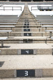 Stadium Stairs Royalty Free Stock Photos