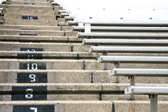 Stadium Stairs Royalty Free Stock Photo