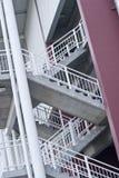 Stadium stairs Stock Image