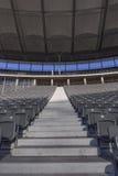 Stadium stairs Stock Photo