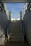Stadium stairway Royalty Free Stock Images
