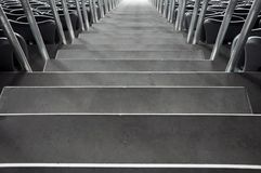 Stadium steps Royalty Free Stock Images