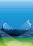 Stadium Tło royalty ilustracja