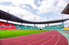 Stadium track Royalty Free Stock Photos