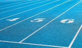 Stadium track Stock Images