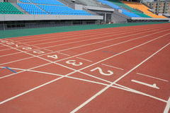 Stadium track Royalty Free Stock Photography