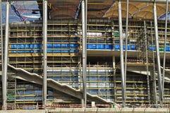 Stadium under construction Stock Photography