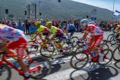 Stadium 2 van de Giro D Italië van 2018 stock afbeeldingen