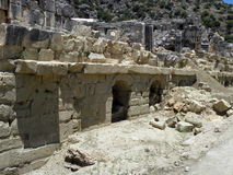 Stadium van het Grieks-Romeinse theater in Turkije Royalty-vrije Stock Foto