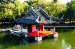 Stadium voor Chinees dorp Royalty-vrije Stock Fotografie
