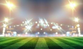 Stadium w światłach Obraz Stock