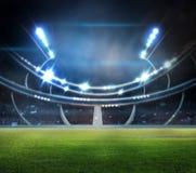 Stadium w światłach ilustracja wektor