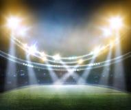 Stadium w światłach royalty ilustracja