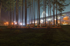 Stadium w Borisov Zdjęcia Royalty Free