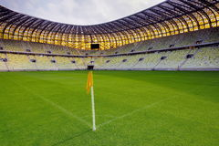The stadium was built specifically for the Euro 2012 Championship Royalty Free Stock Photos
