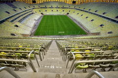 The stadium was built specifically for the Euro 2012 Championship Stock Images