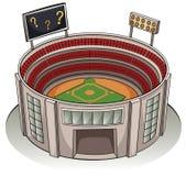 A stadium Royalty Free Stock Photos