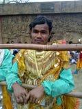 Stadiumkunstenaar in zijn kostuum Royalty-vrije Stock Foto's