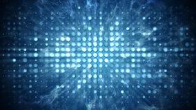 Stadiumlichten en van het de partijconcept van de rookdisco de abstracte achtergrond vector illustratie