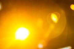 Stadiumlichten op overleg Stock Foto's