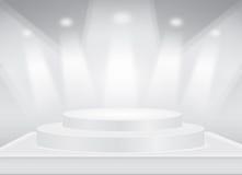 Stadiums-Hintergrund Lizenzfreie Stockfotos