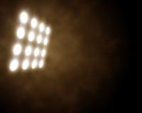 Stadiumsscheinwerfer Stockfotografie