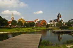 Stadlandskap Arkivfoton