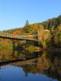 stadlec моста цепное Стоковое Фото