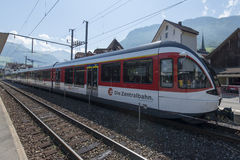 Stadler FLIRT train in Stans, Switzerland Stock Photography