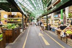 stadlondon marknad Fotografering för Bildbyråer
