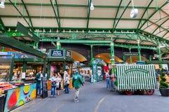 Stadmarknad i Southwark, centrala London, UK Arkivfoto