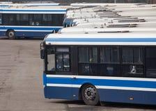 Stads†bussen ‹â€ ‹in Krakau royalty-vrije stock afbeeldingen