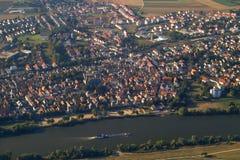 stadsöverkant Arkivbilder