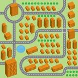 Stadsöversikt Arkivfoton