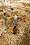 stads- arkeologi Royaltyfria Foton