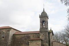 Stads- arkitektur av Santiago de Compostela, Spanien Royaltyfri Fotografi