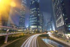 Stads- arkitektur för Hong Kong ` s Fotografering för Bildbyråer