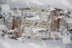 stads- bakgrund royaltyfri foto