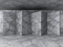 Stads- bakgrund för abstrakt betongväggarkitektur Arkivfoto