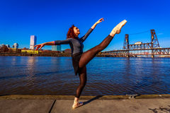 stads- ballerina Royaltyfria Foton
