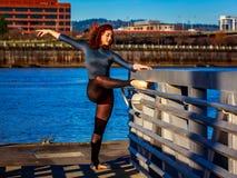 stads- ballerina Arkivbild