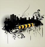 Stads- baner Arkivfoto