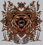 Stads- björn stock illustrationer