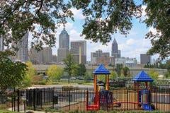 Stads- bosatta Atlanta Royaltyfri Foto
