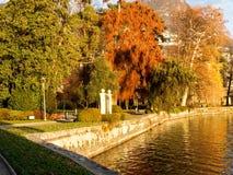 Stads botanisch park royalty-vrije stock afbeelding