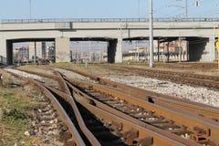 Stads- bro arkivfoton