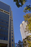 stads- byggnader Royaltyfri Bild