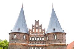 Stads- dörr av Lubeck, tysk Royaltyfri Foto