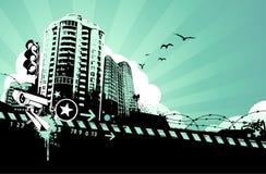 Stads- design Arkivfoto
